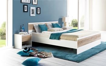 manželská posteľ + nočný stolík