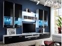 Obývacie steny - obývacie steny s led/rgb osvetlením
