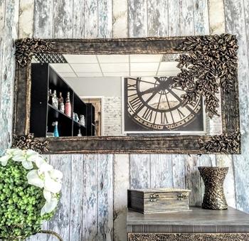 luxusné zrkadlo Salma