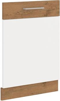 dub lancelot + biely lesk - 71,3x60 cm