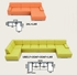 ilustračné foto modulov - Sektorová sedacia súprava AVA FAMM
