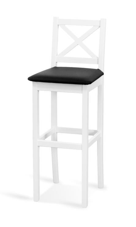 s čalúneným sedákom - Barová stolička Hoker HX