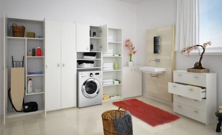 biela - NATALI - kúpeľňový sektorový systém
