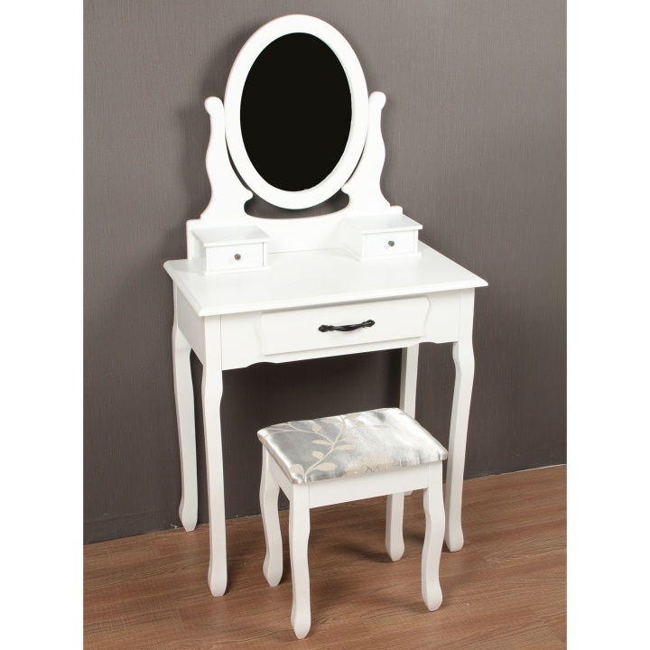 biela - Toaletný stolík LINET NEW