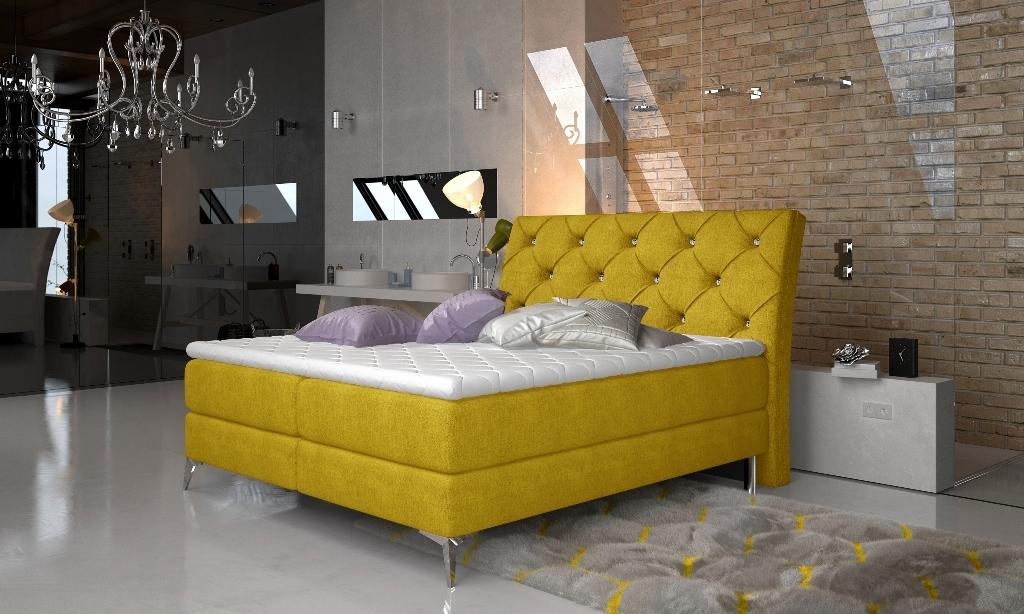 Omega 68 - Manželská posteľ Adel 160/180