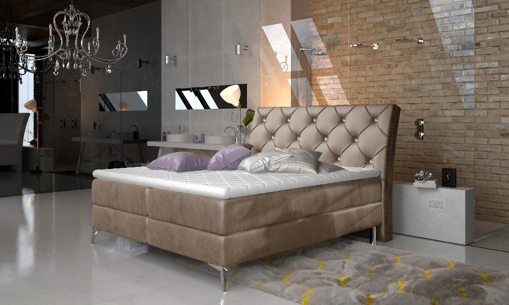 Monolith 09 - Manželská posteľ Adel 160/180