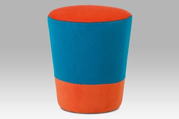 oranžová / modrá