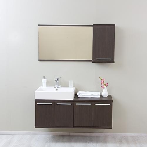 wenge - Kúpeľňová zostava REA REST II