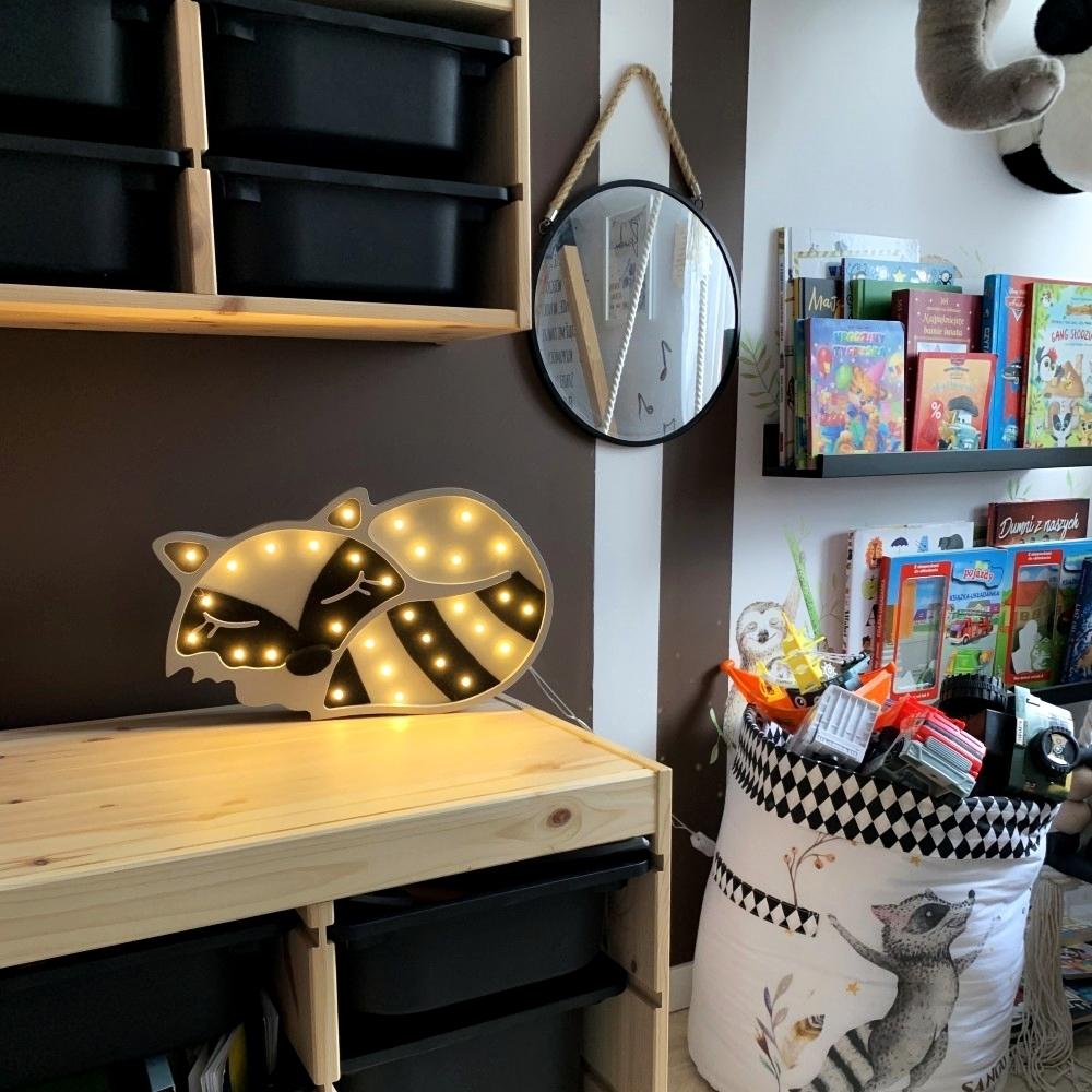 medvedík čistotný - Detská dekoračná lampa Medvedík čistotný