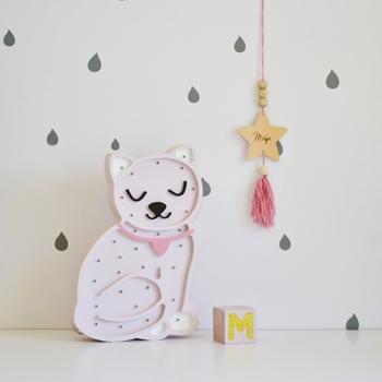 mačička - biela