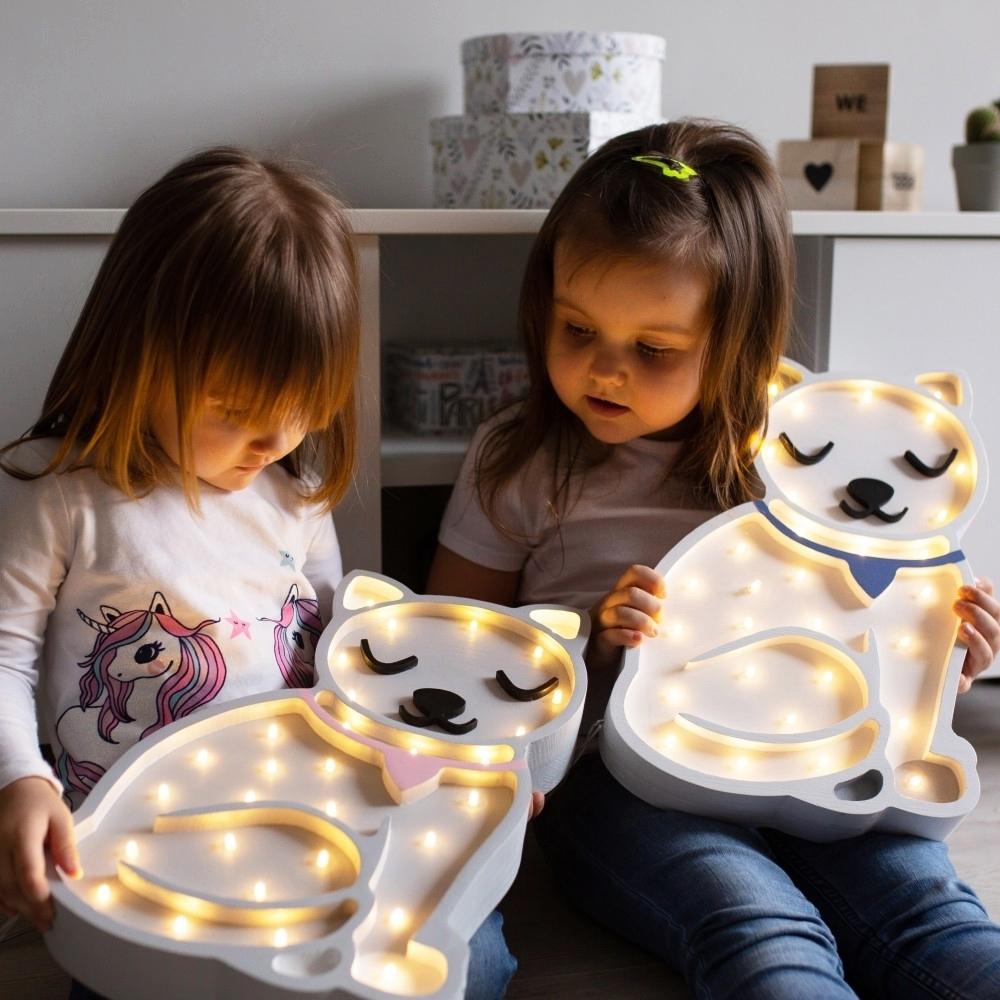 ilustračné foto - Detská dekoračná lampa Mačička