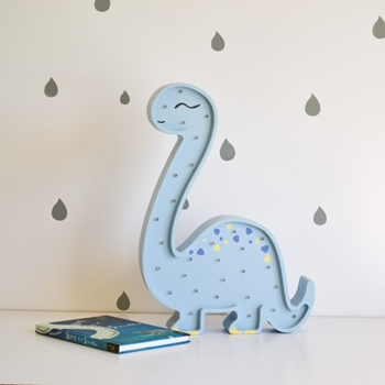 veľký dinosaurus - svetlomodrá