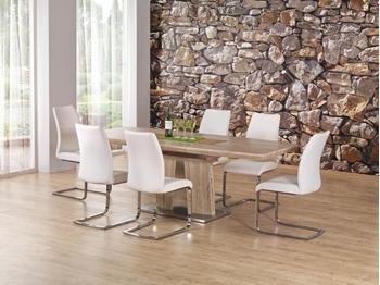 ilustračné foto stola rafaello a stoličiek - Rozkladací jedálenský stôl RAFAELLO