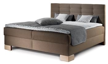 látka 48 (pléd v látke 233, vankúše 235 a 233) - Manželská posteľ Boxspring Viana