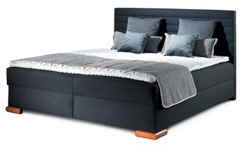 látka 241 (pléd v látke 240, vankúše 232, 239 a 240) - Manželská posteľ Boxspring Coralo