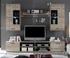 rozmery - Obývacia stena FRONTAL 2 + LED