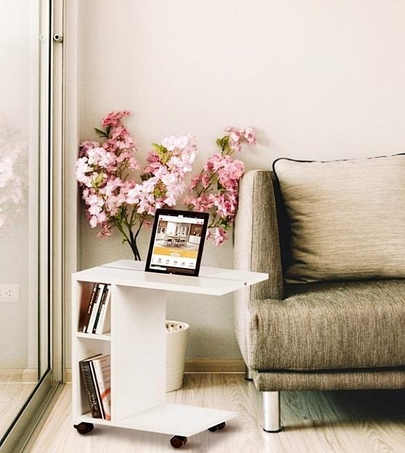 biela - ilustračné foto  - Príručný stolík NIDEN