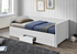 biela  -  v zloženom stave - Rozkladacia posteľ GORETA