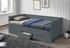 sivá  -  v zloženom stave  - Rozkladacia posteľ GORETA