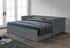 sivá  -  v rozloženom stave  - Rozkladacia posteľ GORETA