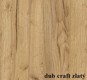 dub craft zlatý - Vzorkovník dekorov dreva